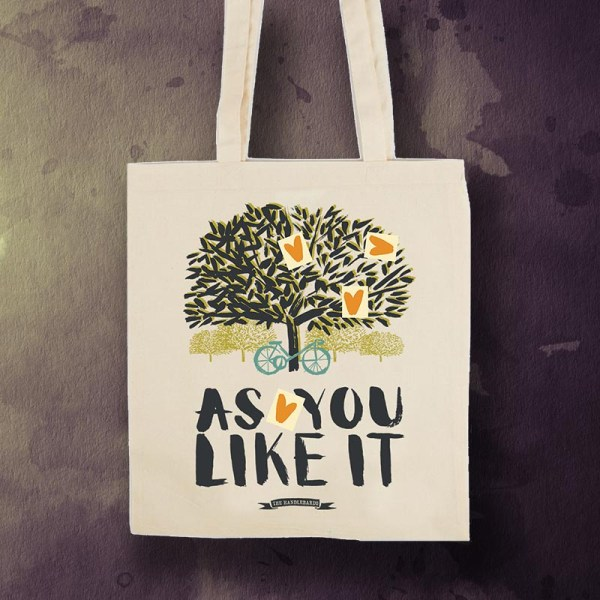 As You Like It HandleBards Tote Bag