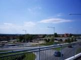 Blick vom Sjukhus auf Umea