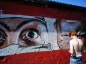 Graffiti aus Umea