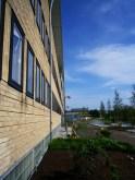 Fassade Bibliotheksgebäude