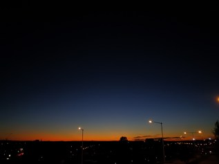 Nachthimmel III - Umea