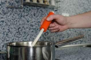 Fotografie einer Griffverdickung am Kochlöffel