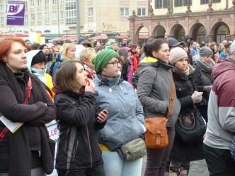 Impressionen von den Protestveranstaltungen 4