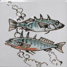 3 spine stickleback tile