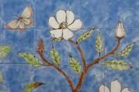 Magnolia, chinese wallpaper tile panel