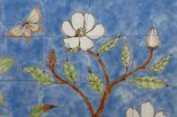 Magnolia, chinese wallpaper tile panel