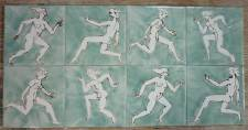 Runners hand drawn single tiles