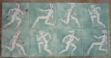 Runners hand drawn single tiles