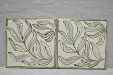 'William Morris' style willow tiles