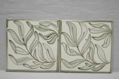 'William Morris' style willow tiles