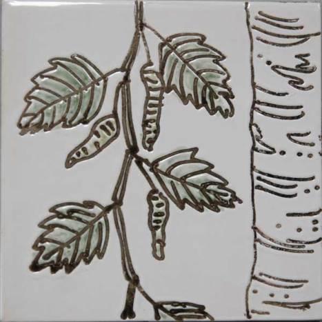 birch tree tile