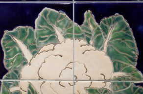 vegetables, cauliflower tiles