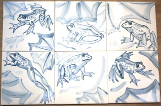 jumping frogs tiles