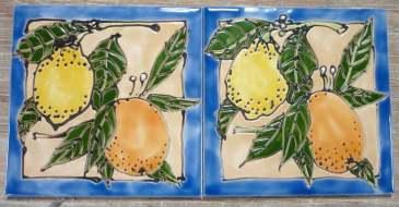 orange + lemon web