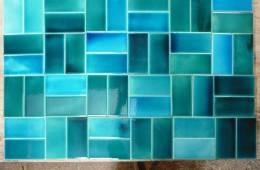 rectangular brick tiles