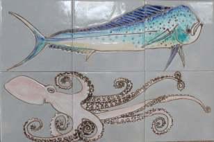 Fish tiles new Zealand fish