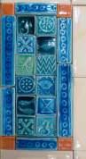 small tile mosaic panel