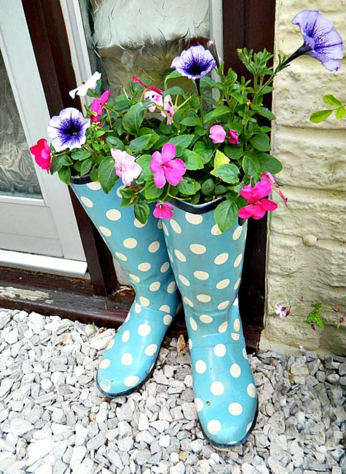 Welly-Boots-Planters