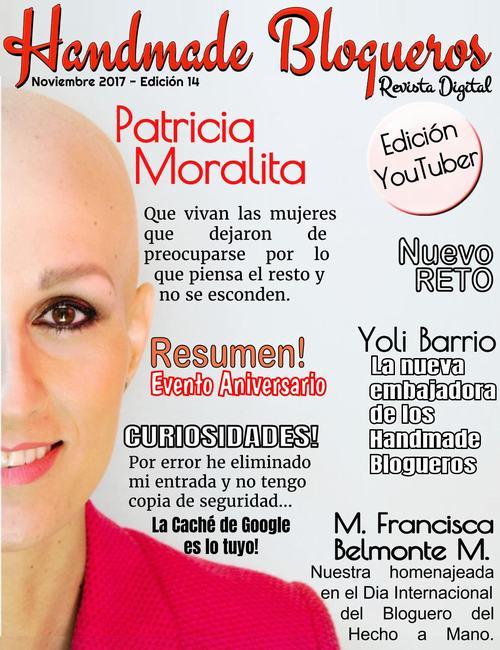 Entrevista a la Youtuber Patricia Morales
