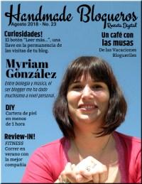 Entrevista a la Blogger Myriam González