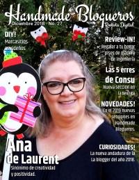 Entrevista a la blogger Ana de Laurent del blog Anuskalandia – «Edición de navidad»