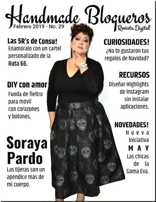 Entrevista a la blogger Soraya Pardo del blog Diy & Glam – «Revista No. 29»