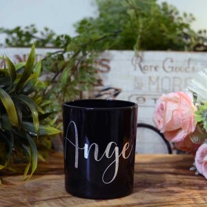 ange personalised candle