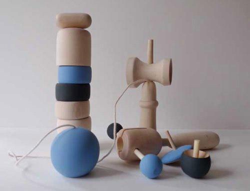 Natural Japanese Wooden Toys Handmade Charlotte
