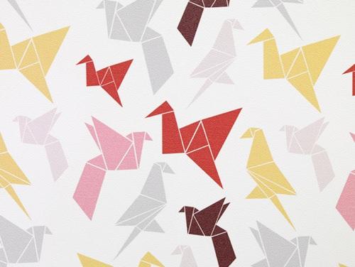 Origami Wallpaper By Dottir Amp Sonur ⋆ Handmade Charlotte