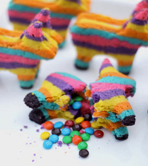 DIY Piñata Cookies