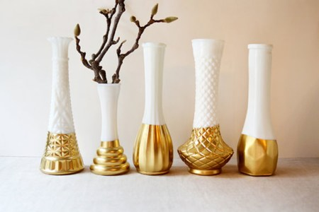 Full Hd Pictures Wallpaper Gold Dipped Vases