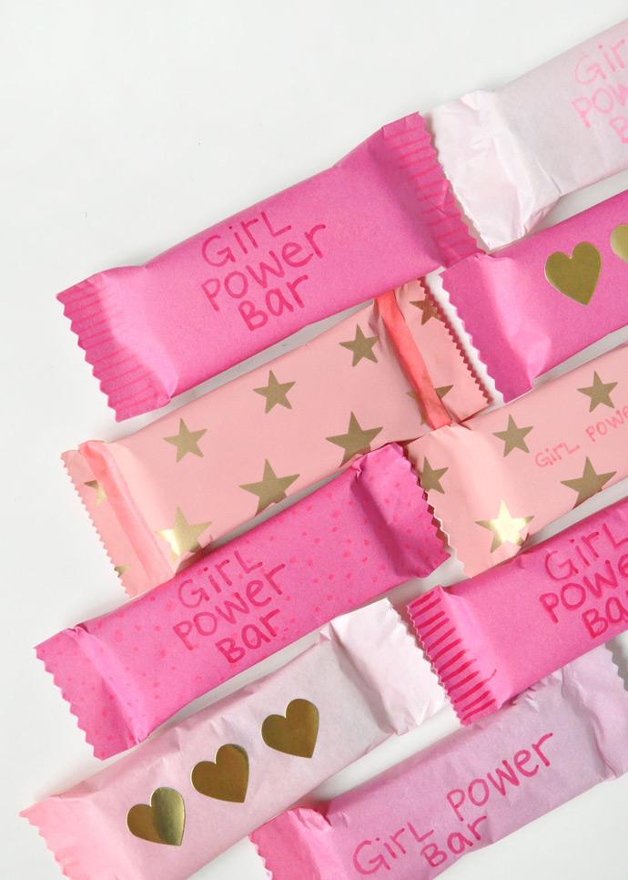 Girl Power Bars Recipe