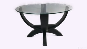Glassed Top Designer Coffee Table