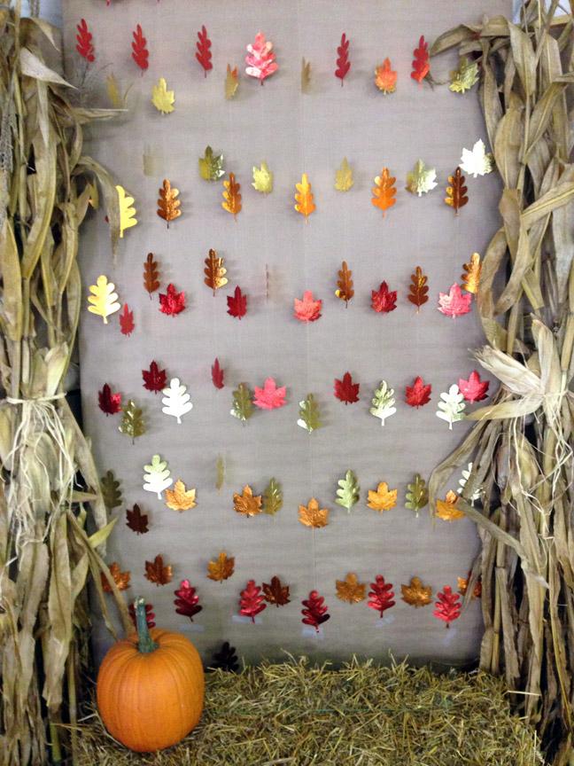 fall photobooth