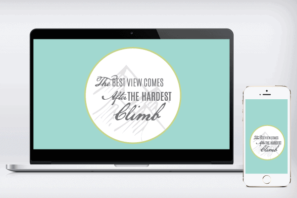 The Climb Free Wallpaper Images