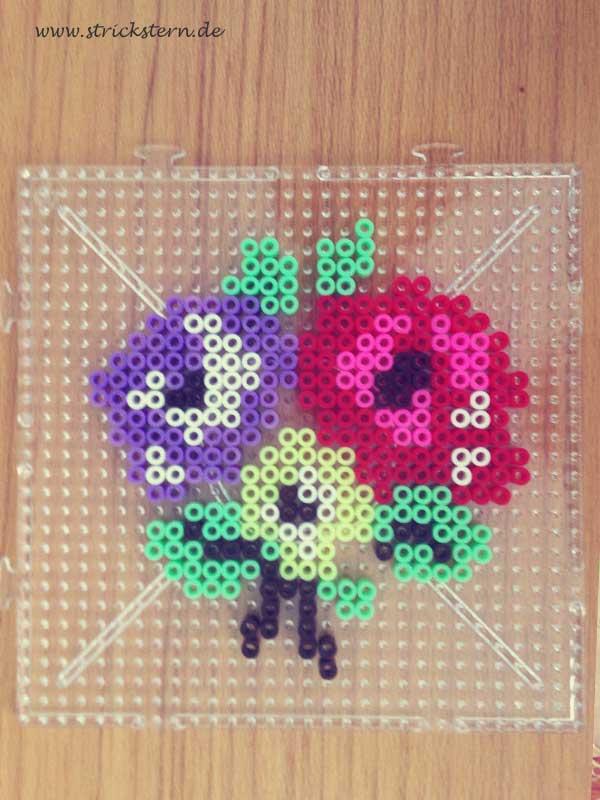Bugelperlen Space Invaders Magneten Diy Hama Perlen Eigene
