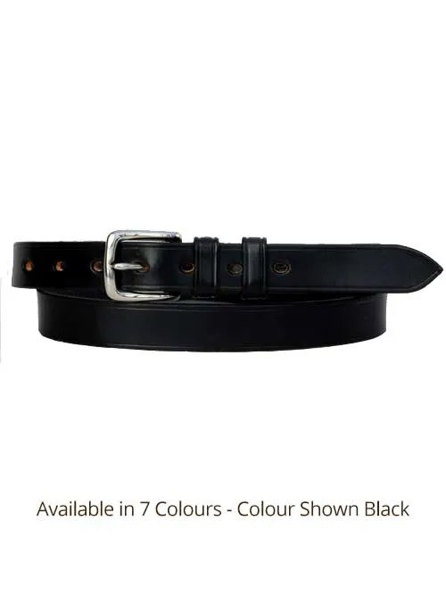 Sedgwicks Leather Belt Handmade - Black
