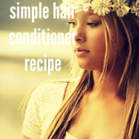 How to make a simple hair conditioner recipe