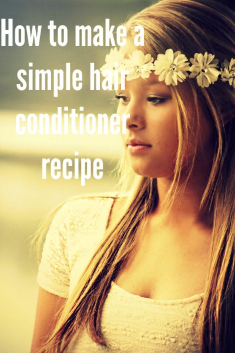 hair conditioner recipe