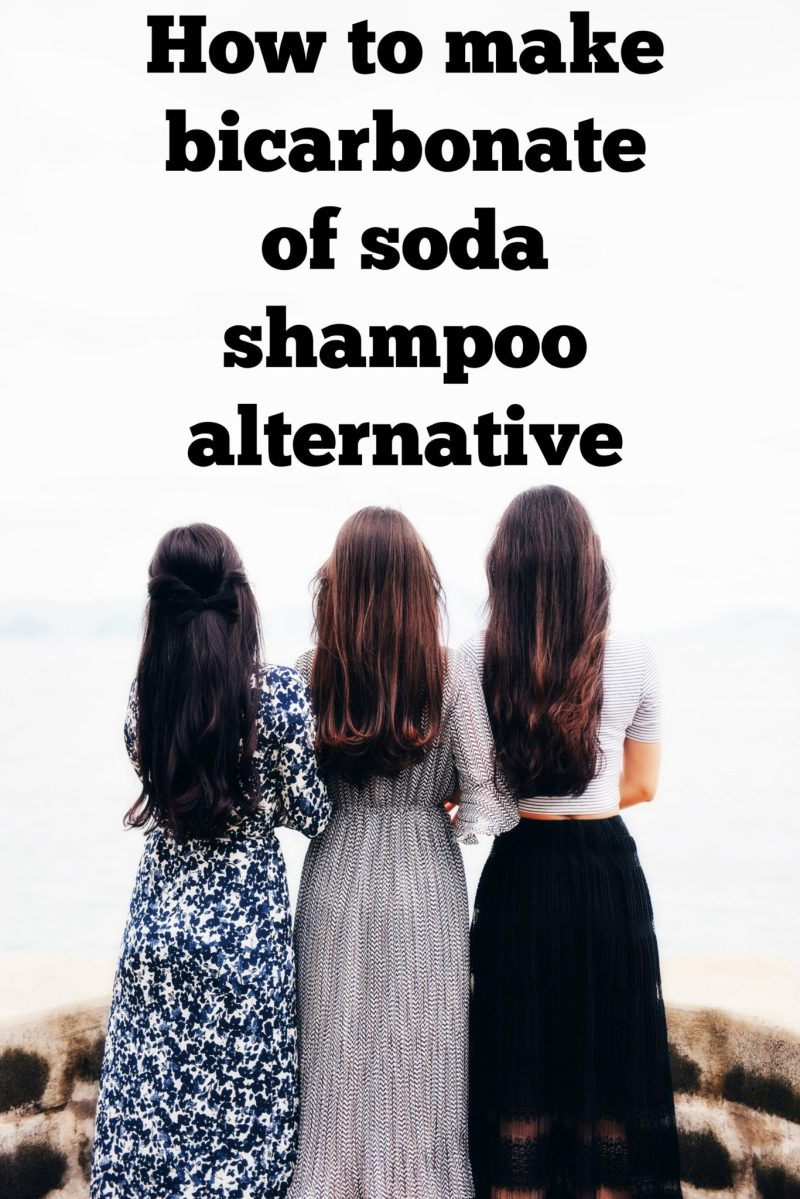 How to make bicarbonate of soda shampoo alternative