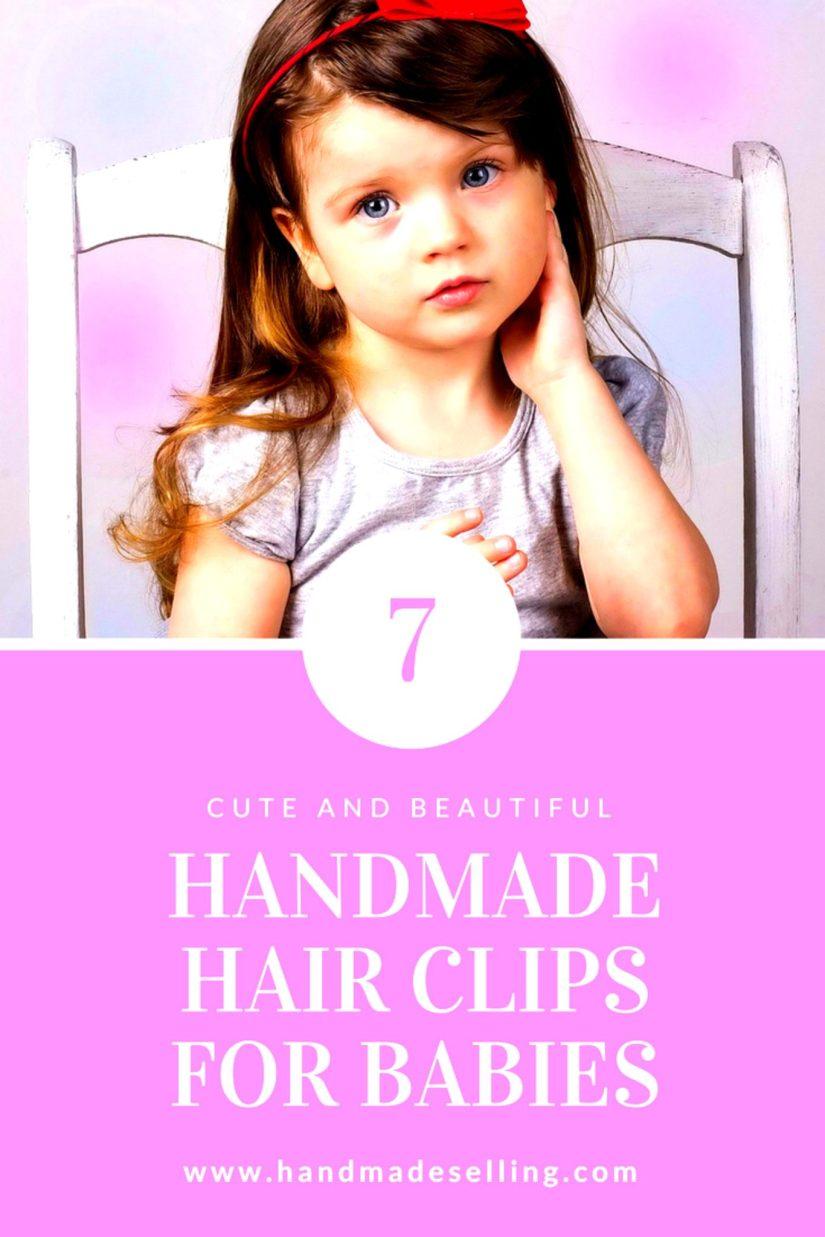handmade hair clips for babies