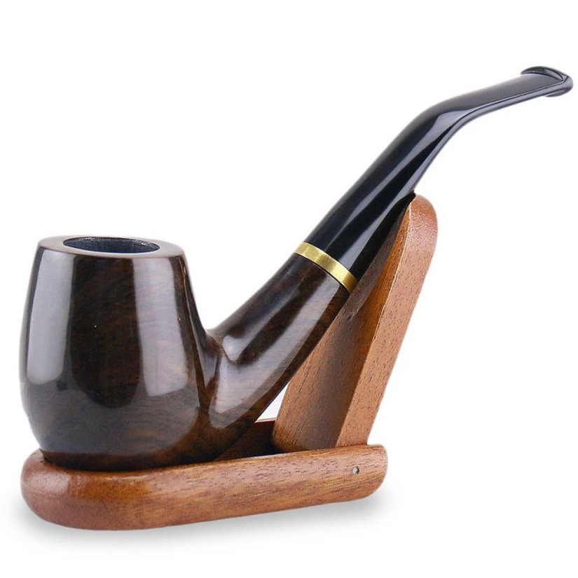 unique wooden pipes ~ Wooden smoking pipe Stand