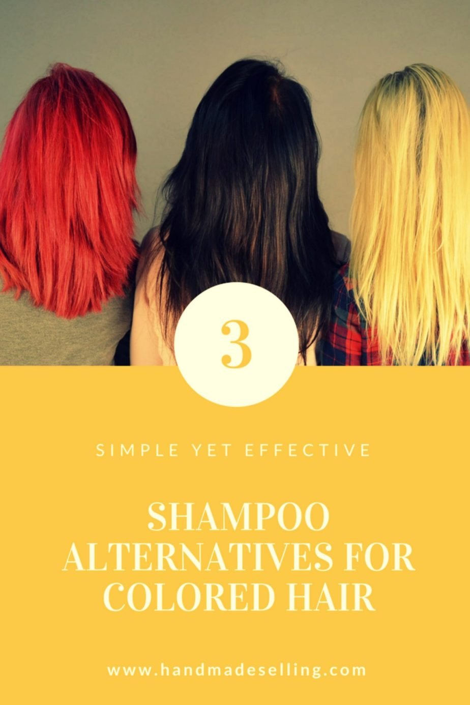 Shampoo Alternatives For Colored Hair Handmadeselling