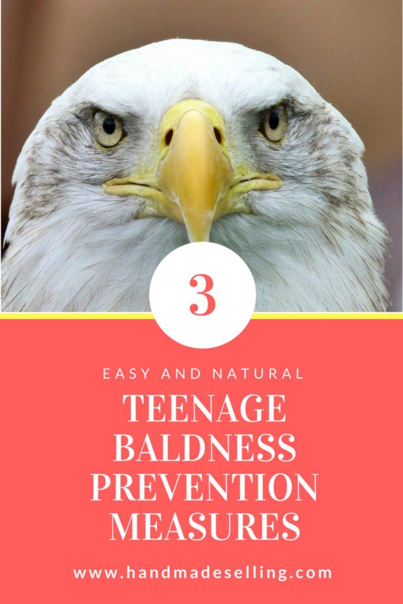 teenage baldness prevention measures