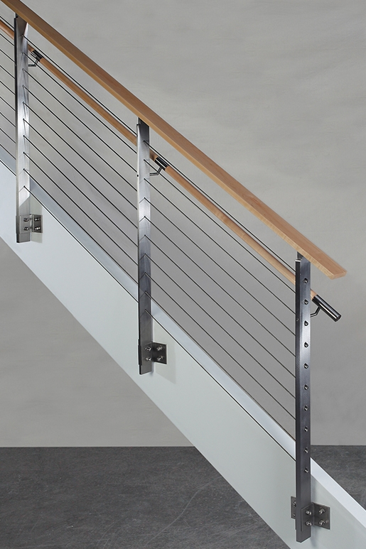 Koto™ Hdi Railing Systems | Stainless Steel Handrail Designs | Balustrade | Supplier | Steel Ordinary | Standard Steel | Simple