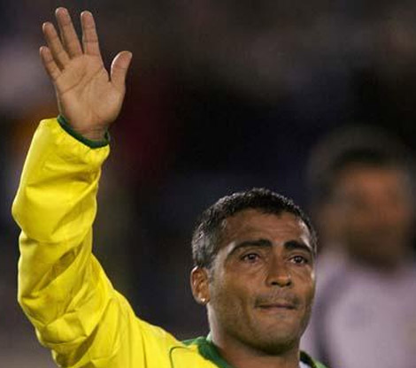 Romário - Golden ball winner of the FIFA World Cup 1994.