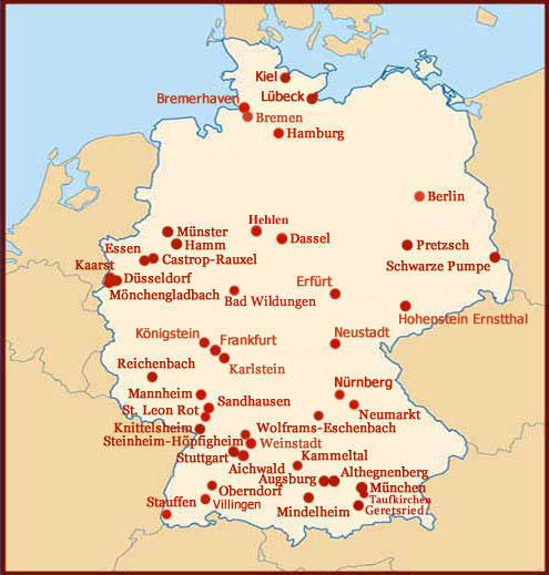 Palmistry & Handlesen in Germany.
