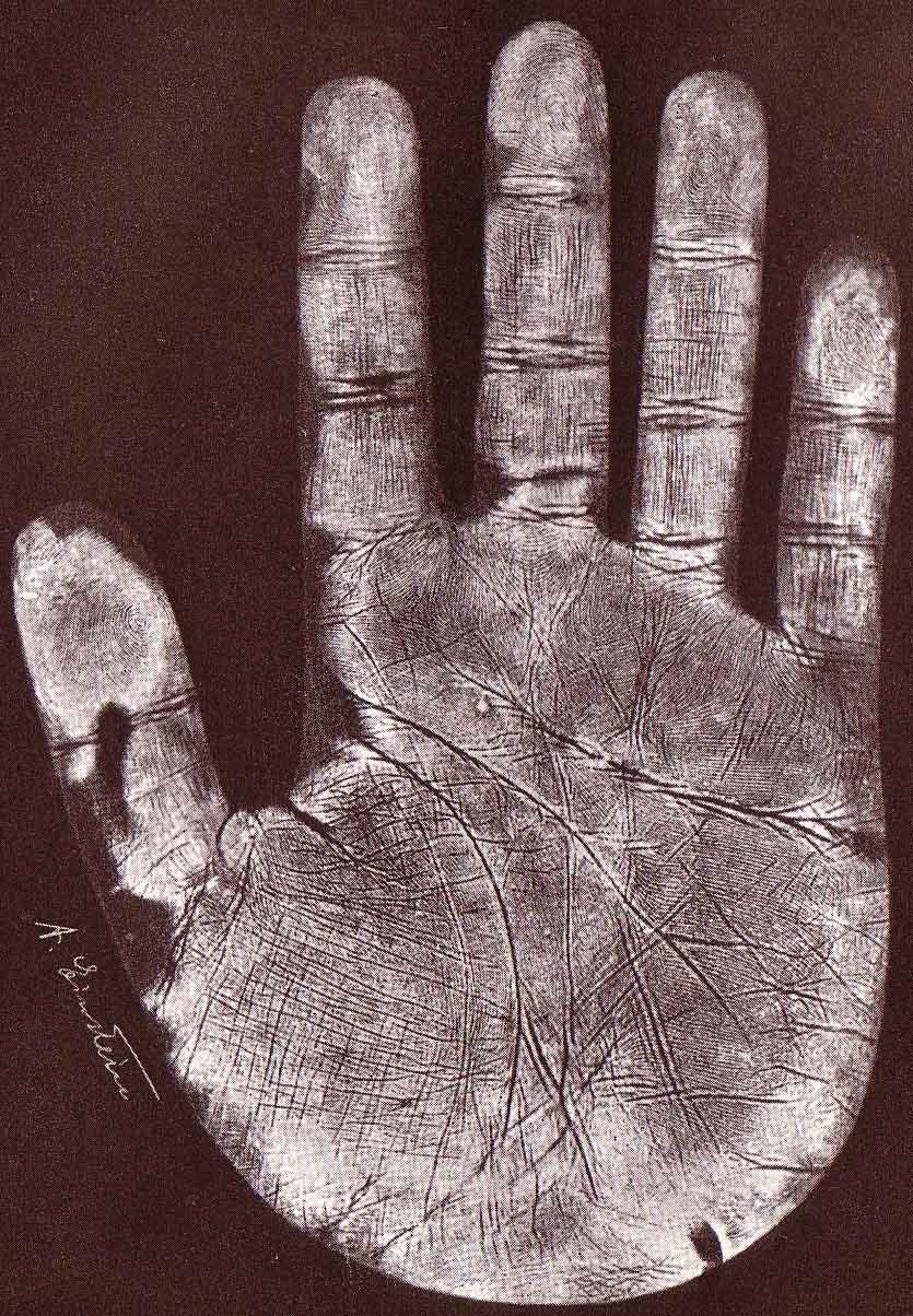 De rechterhand van Albert Einstein.