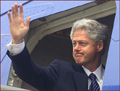 Bill Clinton - right hand waving photo!