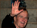George H.W. Bush - right hand waving photo!
